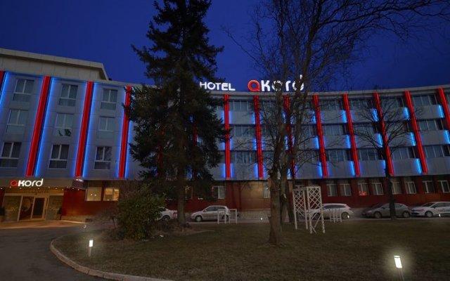 Hotel Akord вид на фасад