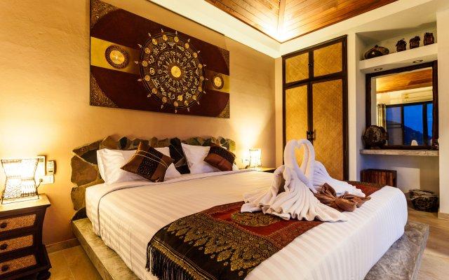 Отель Koh Tao Heights Pool Villas комната для гостей