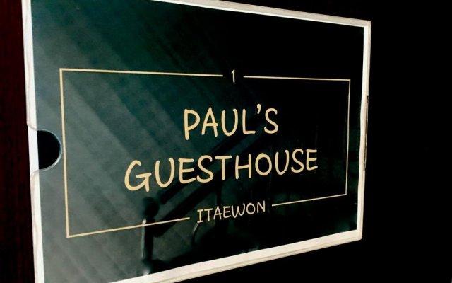 Отель Paul's Guesthouse Сеул вид на фасад