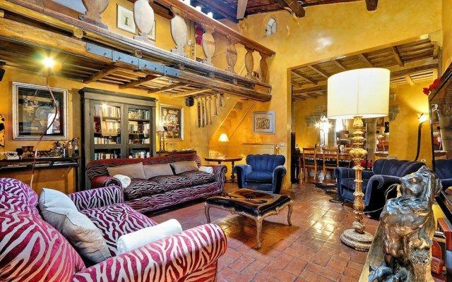 Отель Trastevere Large Apartment With Terrace Италия, Рим - отзывы, цены и фото номеров - забронировать отель Trastevere Large Apartment With Terrace онлайн комната для гостей