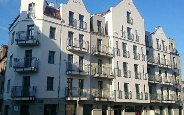 Hotel Sródka вид на фасад