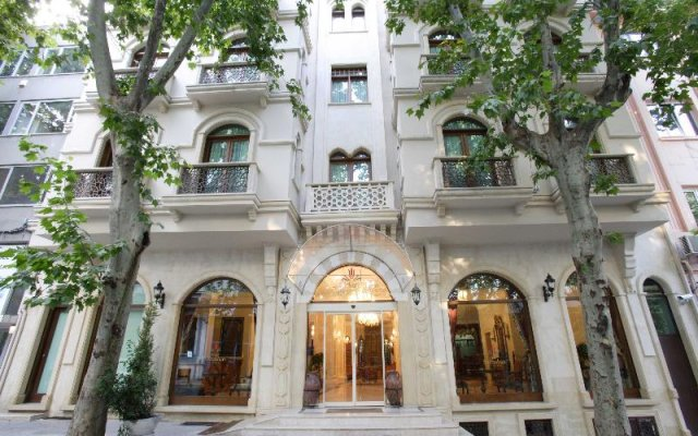 Отель SULTANHAN Стамбул вид на фасад