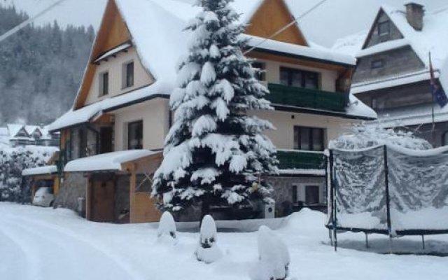 Отель Willa Emma Поронин вид на фасад
