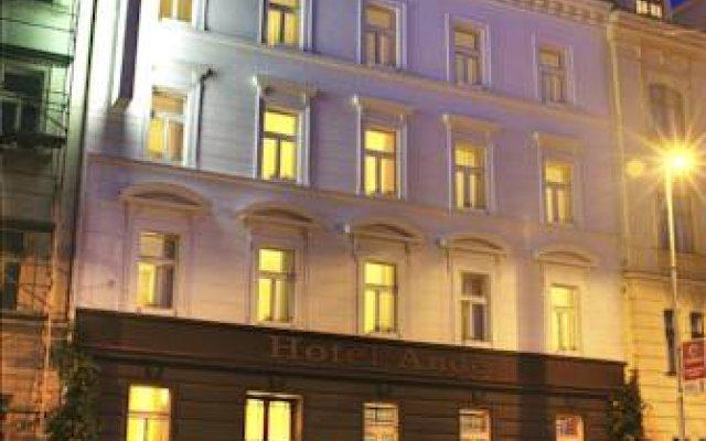 Отель ANDEL Прага вид на фасад