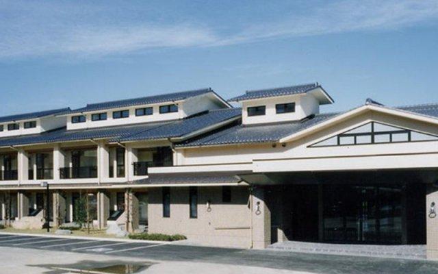 Отель Gokan Resort Ushidake Тояма вид на фасад