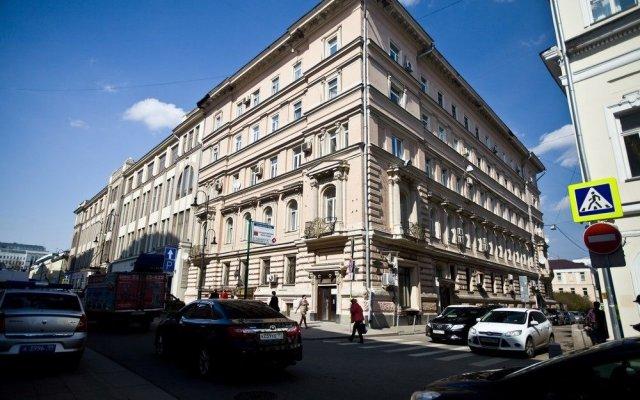 Апартаменты Кварт Апартаменты на Тверской Москва вид на фасад