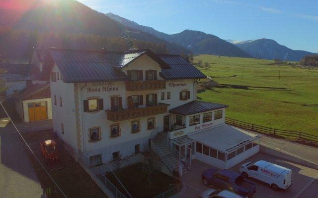 Hotel Restaurant Alpenrose Горнолыжный курорт Ортлер вид на фасад