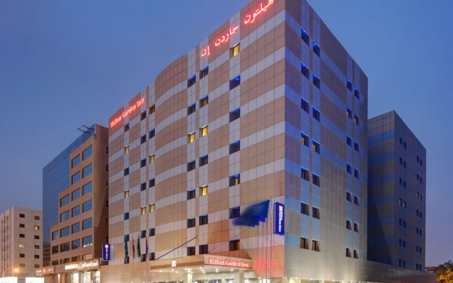 Отель Hilton Garden Inn Riyadh Olaya вид на фасад