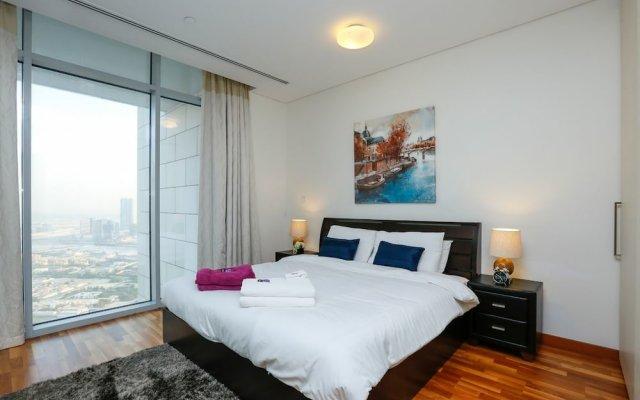 Отель Kennedy Towers Burj Daman комната для гостей
