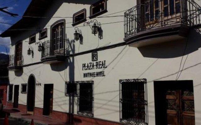Plaza Real Boutique Hotel Копан-Руинас вид на фасад