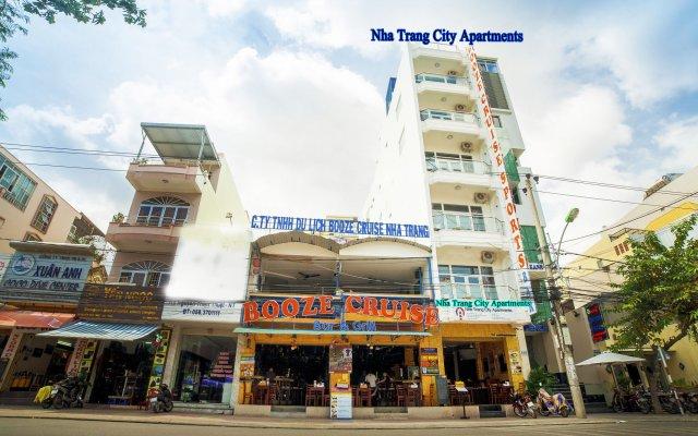 Апартаменты Nha Trang City Apartments вид на фасад