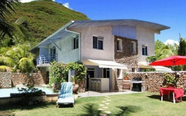 Отель Residence Les Cocotiers Французская Полинезия, Папеэте - отзывы, цены и фото номеров - забронировать отель Residence Les Cocotiers онлайн вид на фасад