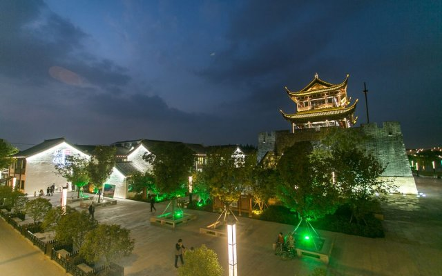 Manxin Hotel вид на фасад