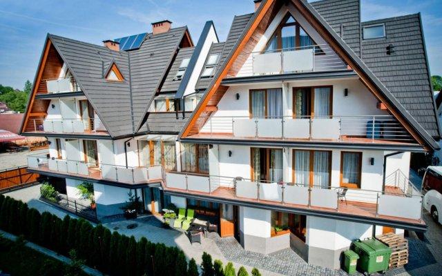 Отель Apartamenty Rubin Польша, Закопане - отзывы, цены и фото номеров - забронировать отель Apartamenty Rubin онлайн вид на фасад