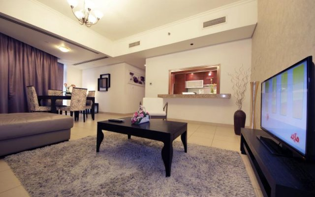 Отель Vacation Bay Downtown Stay Burj View комната для гостей