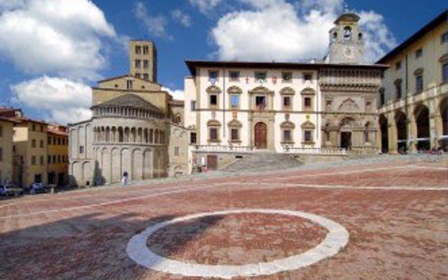 Отель Tuscany b&b Ареццо вид на фасад