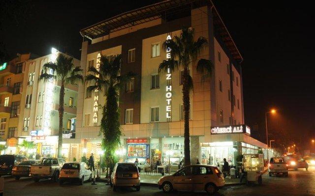 Akdeniz Hotel Мерсин вид на фасад