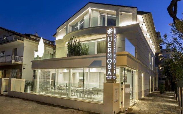 Отель Villa Hermosa Италия, Риччоне - отзывы, цены и фото номеров - забронировать отель Villa Hermosa онлайн вид на фасад