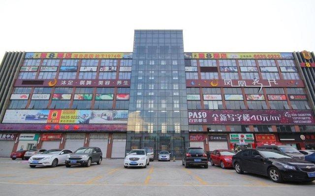 Super 8 Hotel Guangzhou Huang Shi Xi Lu вид на фасад