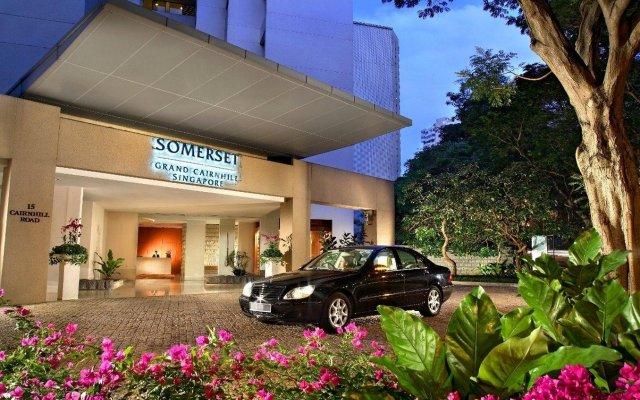 Отель Somerset Grand Cairnhill Сингапур, Сингапур - отзывы, цены и фото номеров - забронировать отель Somerset Grand Cairnhill онлайн вид на фасад