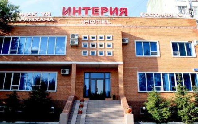 Гостиница Interia Казахстан, Нур-Султан - отзывы, цены и фото номеров - забронировать гостиницу Interia онлайн вид на фасад