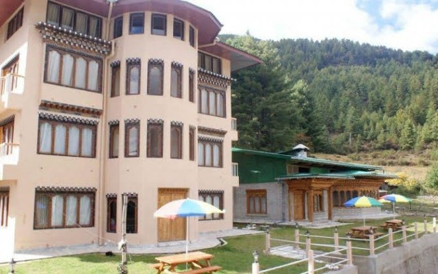 Basecamp Hotel in Paro, Bhutan from 94$, photos, reviews - zenhotels.com hotel front