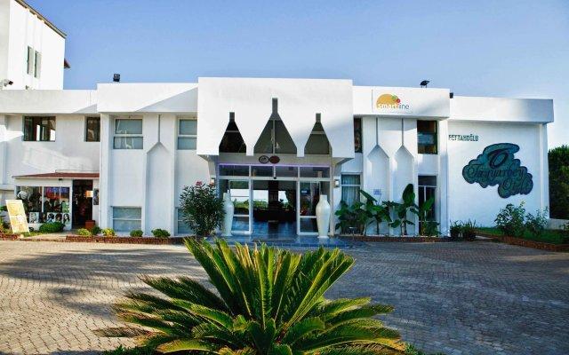 Diamond Sea Hotel Турция, Сиде - отзывы, цены и фото номеров - забронировать отель Diamond Sea Hotel онлайн вид на фасад