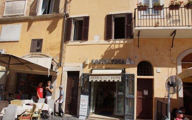 Отель My Pantheon Home Италия, Рим - отзывы, цены и фото номеров - забронировать отель My Pantheon Home онлайн вид на фасад