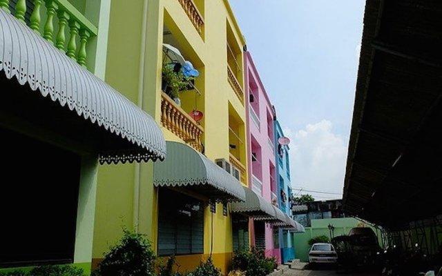 Отель Romnarin Residence Таиланд, Бангкок - отзывы, цены и фото номеров - забронировать отель Romnarin Residence онлайн вид на фасад