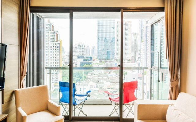 Отель The Address Sathorn By Favstay Бангкок комната для гостей