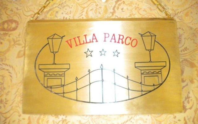 Hotel Villa Parco вид на фасад
