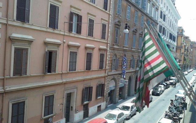 Хостел Весь Мир Москва вид на фасад