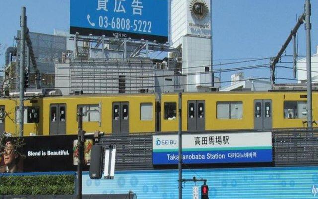 Отель Sunroute Takadanobaba Япония, Токио - отзывы, цены и фото номеров - забронировать отель Sunroute Takadanobaba онлайн вид на фасад