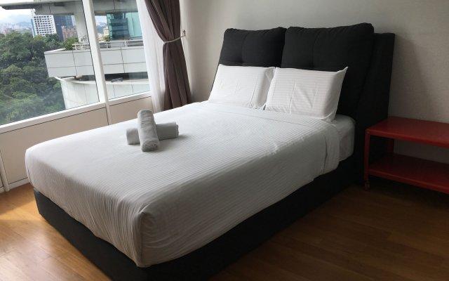 Отель Vortex Suite Residence KLCC Малайзия, Куала-Лумпур - отзывы, цены и фото номеров - забронировать отель Vortex Suite Residence KLCC онлайн вид на фасад