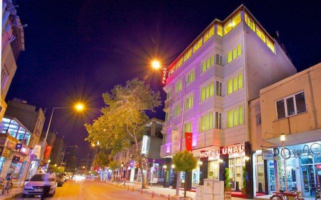 Unal Hotel вид на фасад