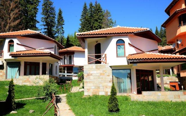 Отель Villas & SPA at Pamporovo Village Пампорово вид на фасад