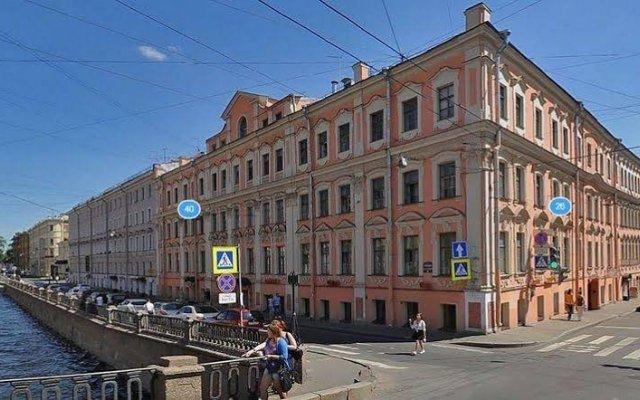 Отель ColorSpb ApartHotel GriboedovArt Санкт-Петербург вид на фасад