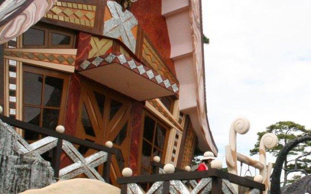 Отель Trang Thanh Guesthouse Далат вид на фасад