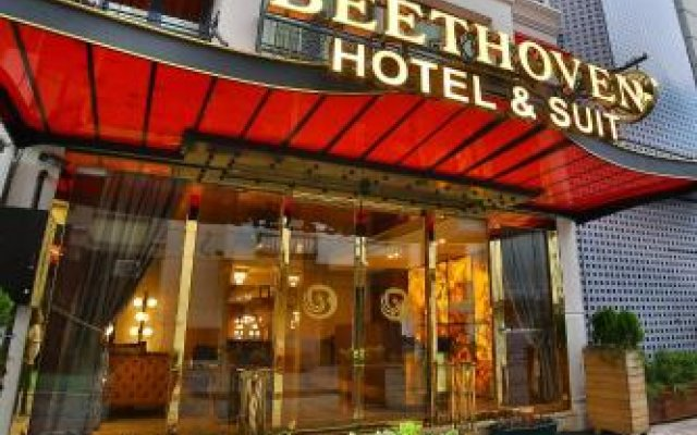Beethoven Hotel & Suite вид на фасад
