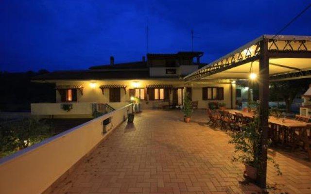 Отель L'antico Feudo Ортона вид на фасад