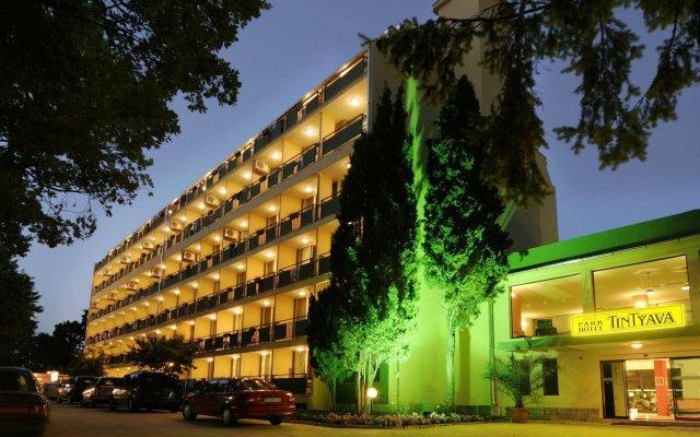 Отель Tintyava Park Hotel Болгария, Золотые пески - отзывы, цены и фото номеров - забронировать отель Tintyava Park Hotel онлайн вид на фасад