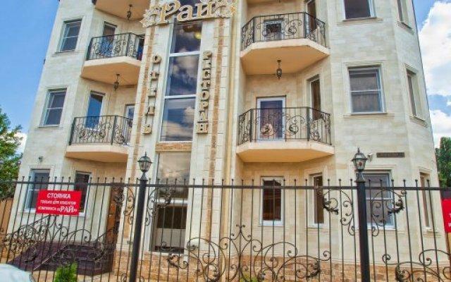 Мини-отель Рай вид на фасад