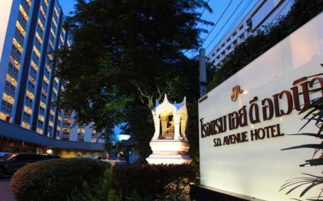 Отель Sd Avenue Бангкок вид на фасад