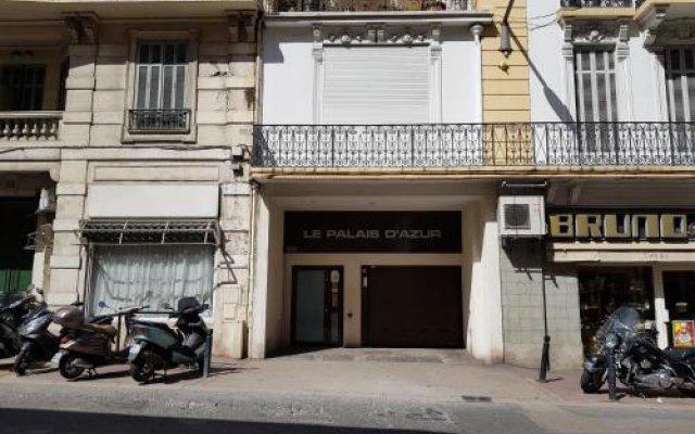 Отель Palais d' azur Франция, Канны - отзывы, цены и фото номеров - забронировать отель Palais d' azur онлайн вид на фасад
