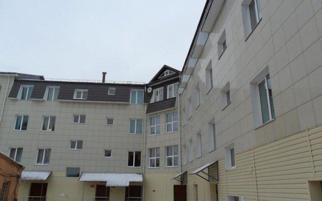 Гостиница Евразия вид на фасад