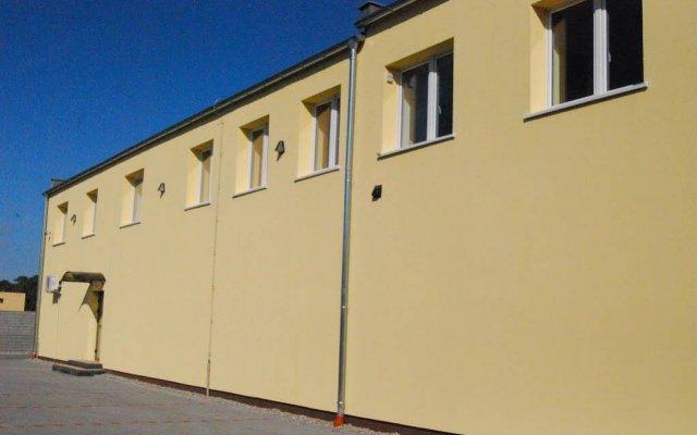 Отель Bluszcz вид на фасад