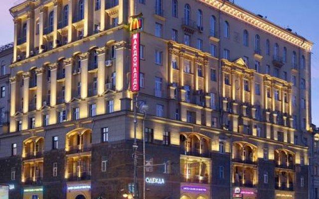 Апартаменты Moscow Suites Apartments Тверская вид на фасад