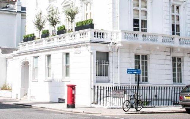Отель Beaufort Gardens By Onefinestay Лондон вид на фасад