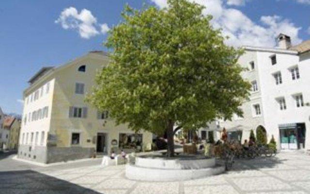 Отель Gasthof zur Sonne Силандро вид на фасад