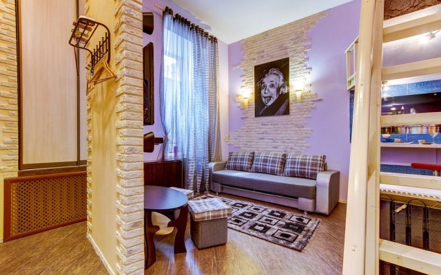 Гостиница FlatStar on Ligovsky 53 комната для гостей